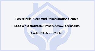 Forest Hills  Care And Rehabilitation Center