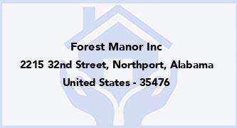 Forest Manor Inc