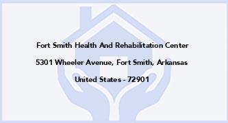 Fort Smith Health And Rehabilitation Center