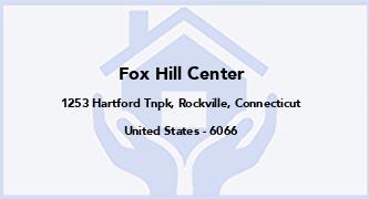 Fox Hill Center