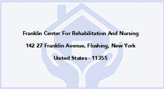 Franklin Center For Rehabilitation And Nursing