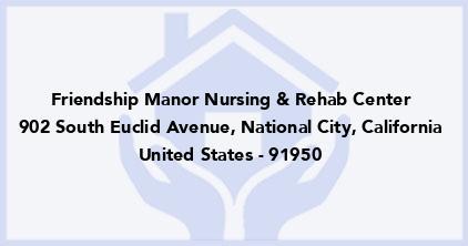 Friendship Manor Nursing & Rehab Center