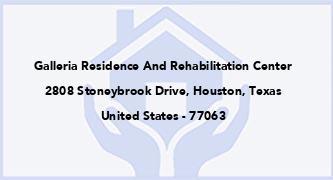 Galleria Residence And Rehabilitation Center