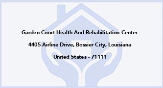 Garden Court Health And Rehabilitation Center
