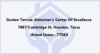 Garden Terrace Alzheimer'S Center Of Excellence