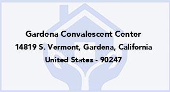 Gardena Convalescent Center