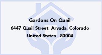 Gardens On Quail
