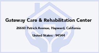 Gateway Care & Rehabilitation Center