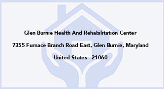 Glen Burnie Health And Rehabilitation Center