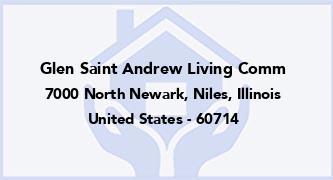 Glen Saint Andrew Living Comm