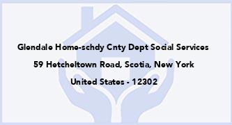 Glendale Home-Schdy Cnty Dept Social Services