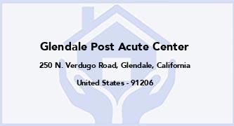 Glendale Post Acute Center