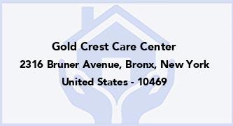 Gold Crest Care Center