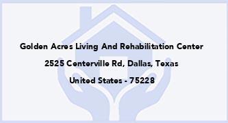 Golden Acres Living And Rehabilitation Center