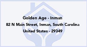Golden Age - Inman