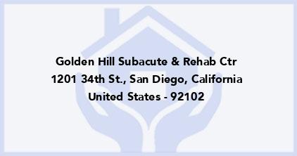 Golden Hill Subacute & Rehab Ctr