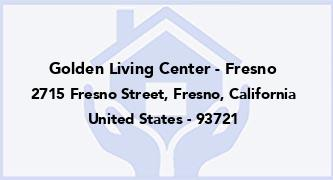 Golden Living Center - Fresno