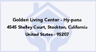 Golden Living Center - Hy-Pana