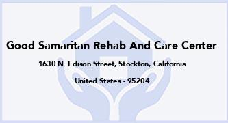 Good Samaritan Rehab And Care Center