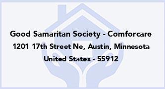 Good Samaritan Society - Comforcare