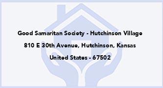 Good Samaritan Society - Hutchinson Village