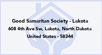 Good Samaritan Society - Lakota