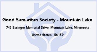 Good Samaritan Society - Mountain Lake