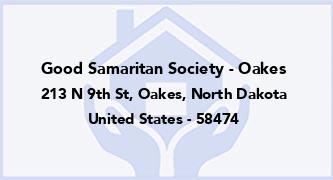 Good Samaritan Society - Oakes