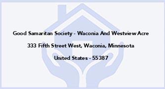 Good Samaritan Society - Waconia And Westview Acre
