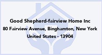 Good Shepherd-Fairview Home Inc
