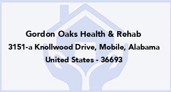 Gordon Oaks Health & Rehab