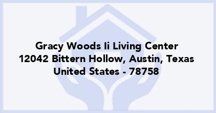 Gracy Woods Ii Living Center