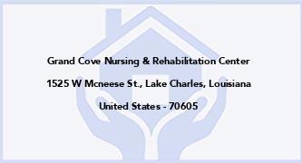 Grand Cove Nursing & Rehabilitation Center