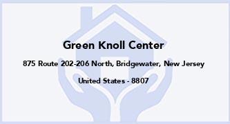 Green Knoll Center