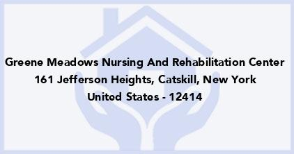 Greene Meadows Nursing And Rehabilitation Center