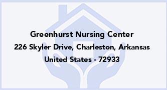 Greenhurst Nursing Center