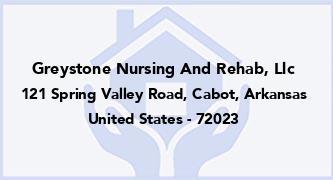 Greystone Nursing And Rehab, Llc