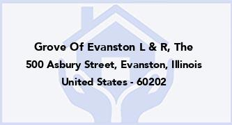 Grove Of Evanston L & R, The