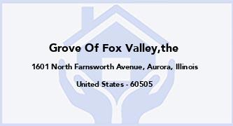 Grove Of Fox Valley,The