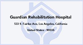 Guardian Rehabilitation Hospital