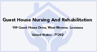 Guest House Nursing And Rehabilitation
