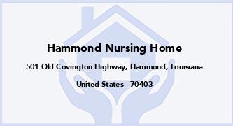 Hammond Nursing Home