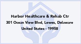 Harbor Healthcare & Rehab Ctr