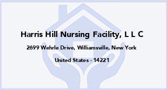 Harris Hill Nursing Facility, L L C