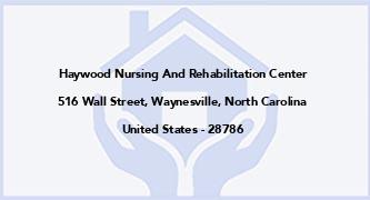 Haywood Nursing And Rehabilitation Center