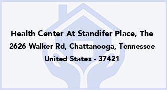 Health Center At Standifer Place, The