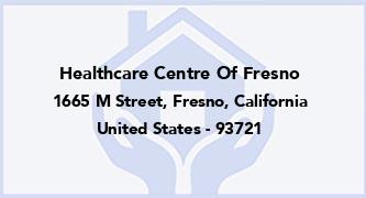 Healthcare Centre Of Fresno
