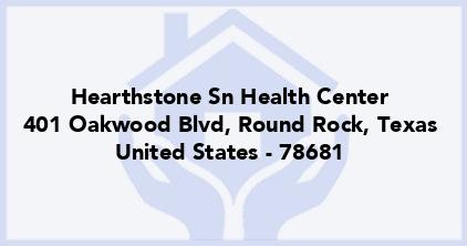 Hearthstone Sn Health Center