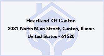 Heartland Of Canton