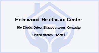 Helmwood Healthcare Center